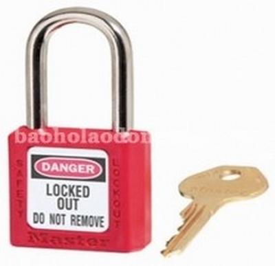 Master Lock 410 Red Lightweight Safety Lockout
