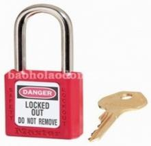 Master Lock 410 Red Lightweight Safety Lockout